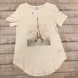 NWT Old Navy Eiffel Tower Top Size M